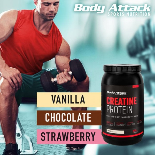 Creatine Protein 2000g Body Attack