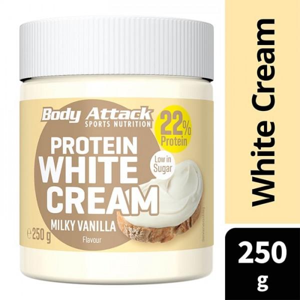 Protein White Cream - 250g Body Attack