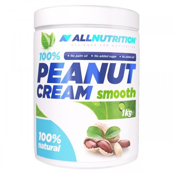 100% Peanut Cream Smooth 1000g AllNutrition