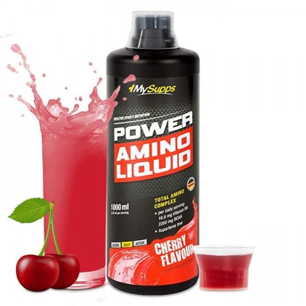 Power Amino Liquid 1000 ml MySupps