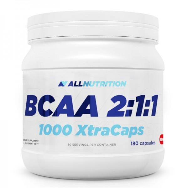BCAA 2:1:1 1000  Xtra Caps 180caps.  AllNutrition