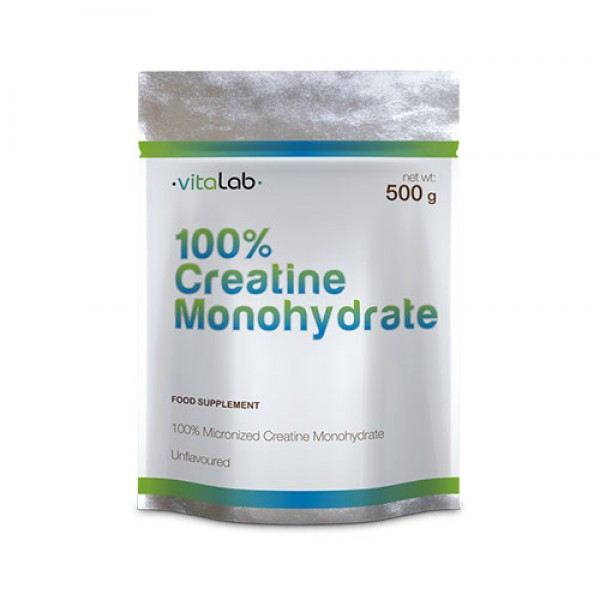 100% Creatine Monohydrate 500g. Vitalab