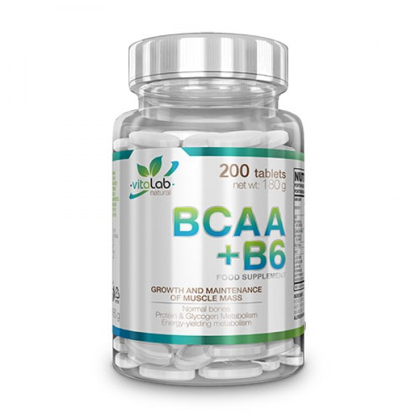 BCAA+B6 100 tab Vitalab