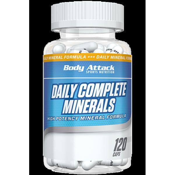 Daily Complete Minerals 120 Caps Body Attack