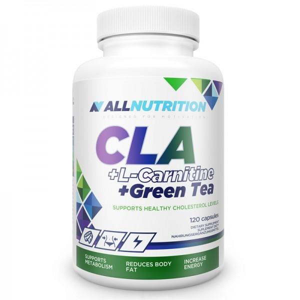 Cla + L-Carnitine + Green Tea 120caps. AllNutrition