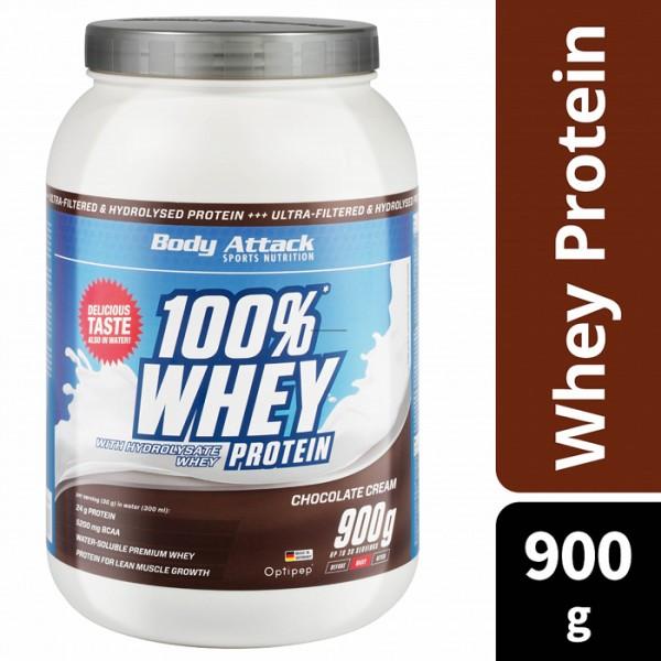 100% Whey Protein 900g Body Attack