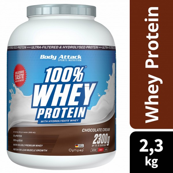 100% Whey Protein - 2300g Body Attack